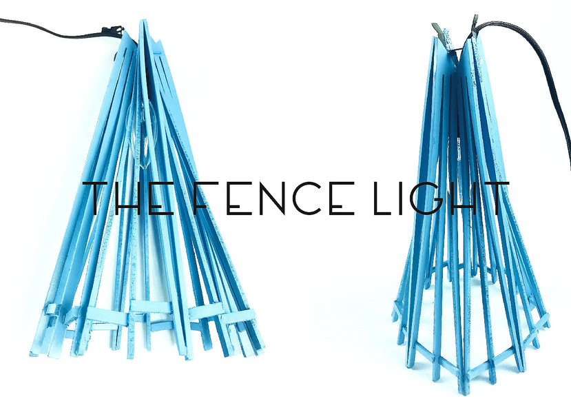 Recycling Project - The Fence Light