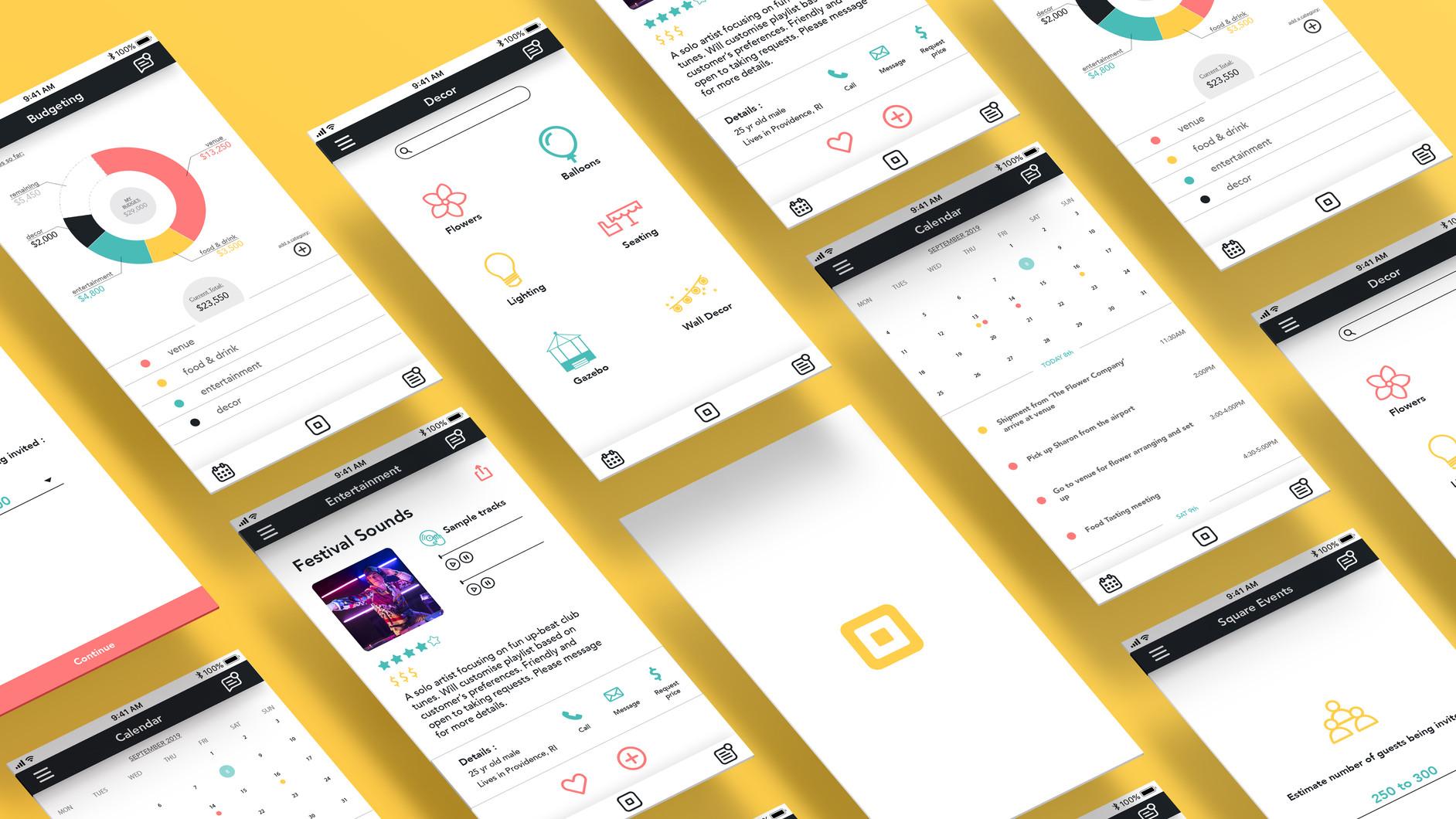 Square Events App