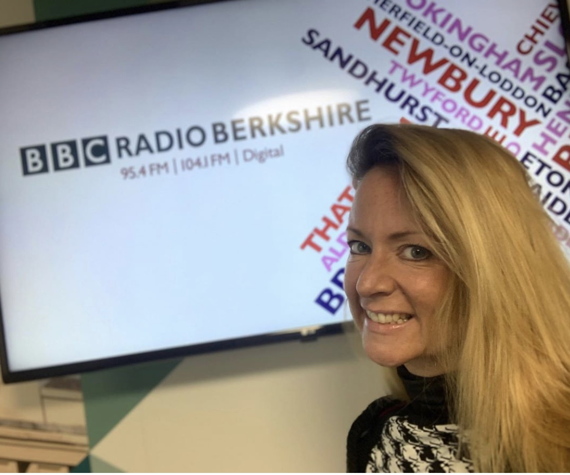 Wellbeing Panelist at BBC Radio Berkshire