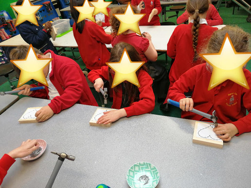 Craft Club at Marian Vian Primary School