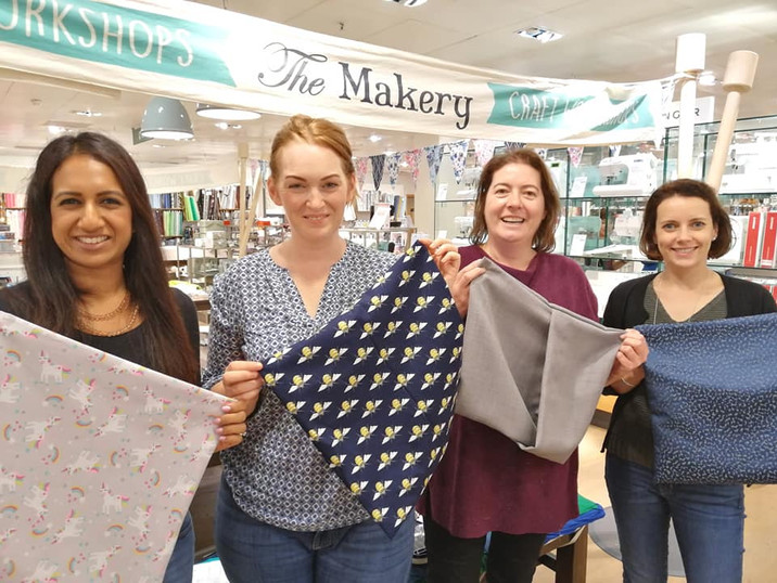 Learn to sew a cushion with The Makery
