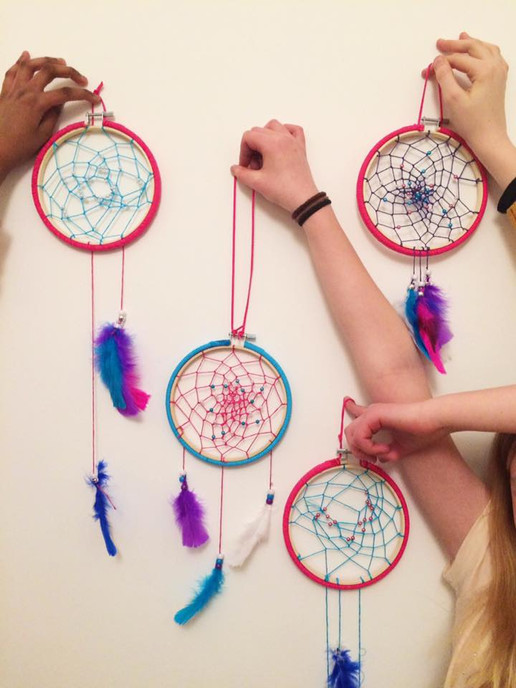 Dream catcher party