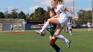 Women's soccer drops heartbreaker to Manhattan