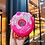 Thumbnail: New Summer Cute Donut Ice Cream Water Bottle With Straw Watermelon BPA Free