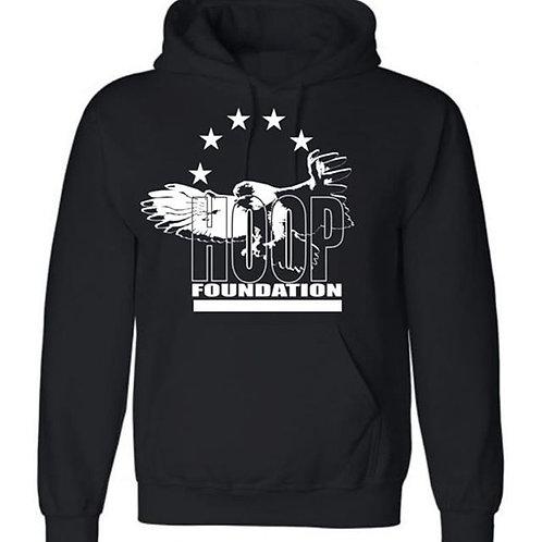 H.O.O.P. Hoodie  Black/White