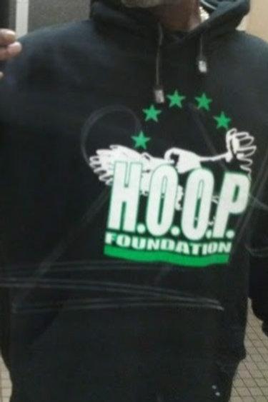 H.O.O.P. Hoodie - Black/Green