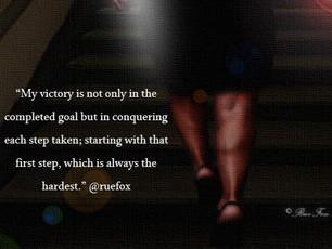 """""""Celebrate Every Step Accomplished"""""""