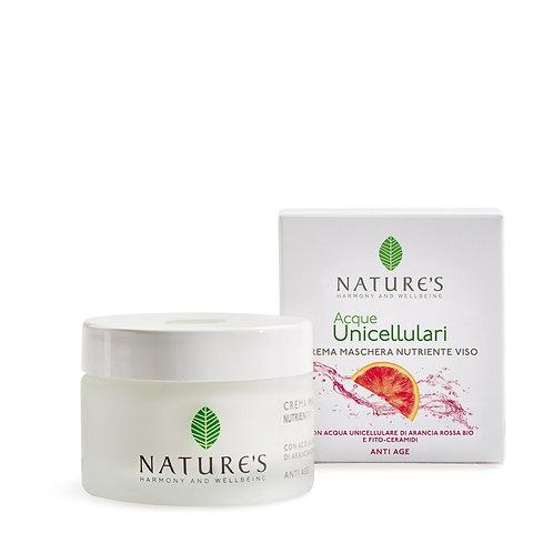 Crema Maschera Nutriente Viso Nature's