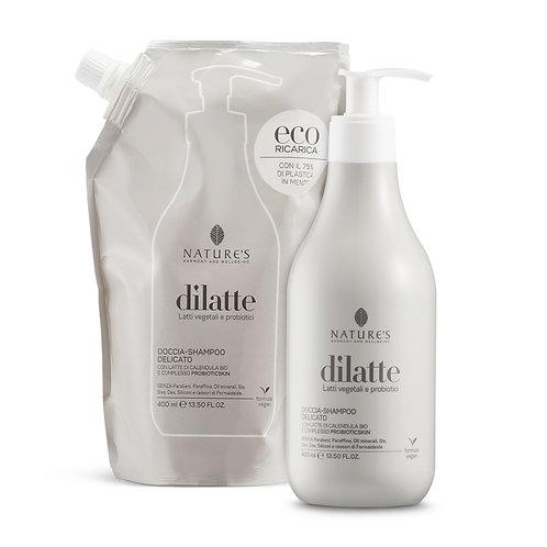 Doccia-shampoo con latte di Calendula bio e complesso probioticskin Nature's