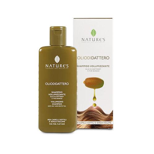 Shampoo Volumizzante per capelli sottili e senza volume Olio di Dattero Bio