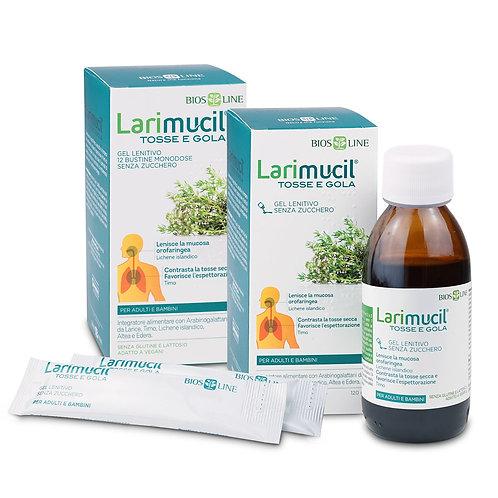 5 LARIMUCIL TOSSE E GOLA  12 single-dose sachets of 10 ml