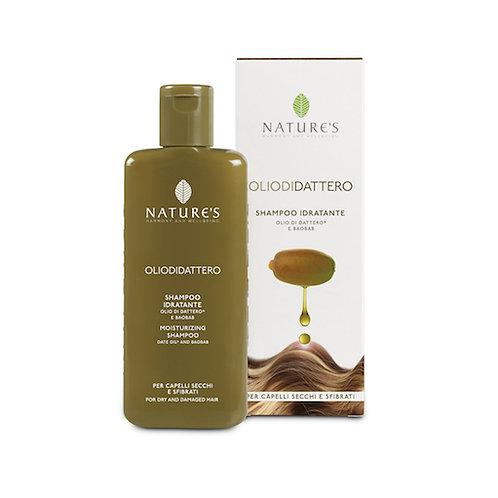 Shampoo Idratante per capelli secchi e sfibrati Olio di Dattero Bio