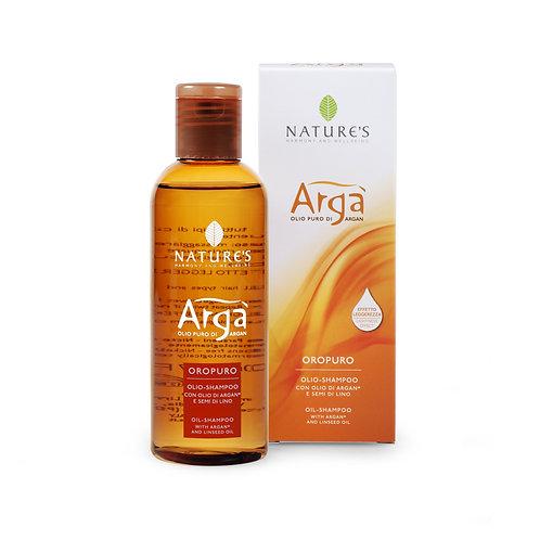 Olio Shampoo con olio di Argan Bio e semi di Lino Nature's