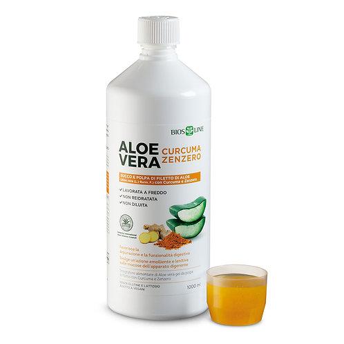 Aloe Vera Curcuma e Zenzero Bios Line