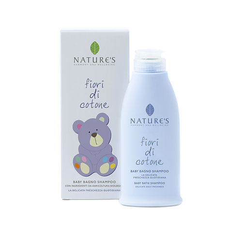 Baby Bagno Shampoo Fiori di Cortone Nature's