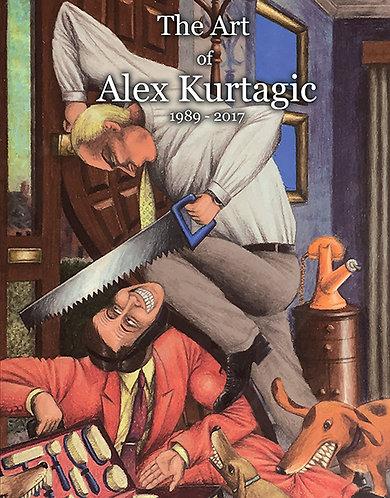 The Art of Alex Kurtagic: 1989 - 2017 - Hardcover (2019)