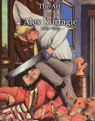 The Art of Alex Kurtagic - 1989 - 2017 -
