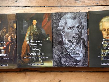 New Hardback Edition of Augustin Barruel's Memoirs Illustrating the History of Jacobinism (4 vols.)