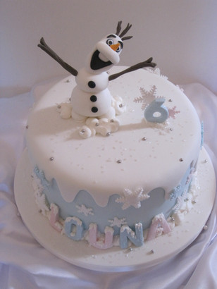 Olaf birthday Cake.JPG