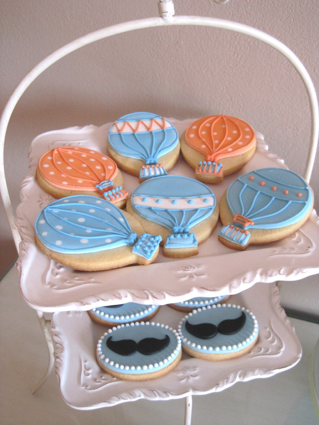 Themed biscuits