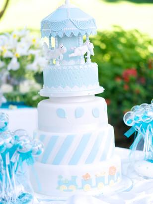 Gâteau de Baptême garçon - Boy's christening cake