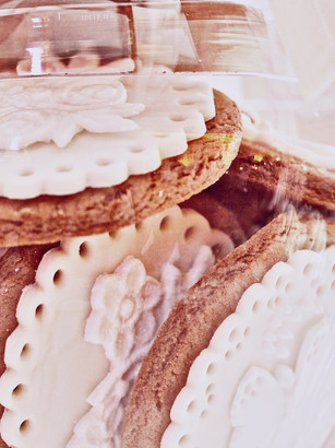 Sugar Lace biscuits