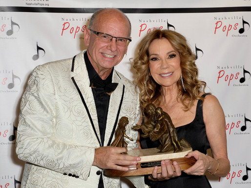 Kathie Lee Gifford Honored with Lifetime Achievement Award by Nashville Pops Orchestra