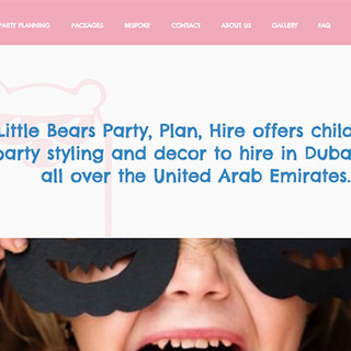 little bears party