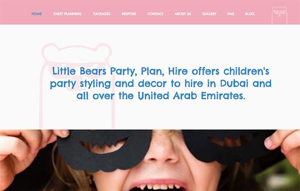 little bears party