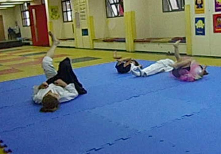 Aikido na escola