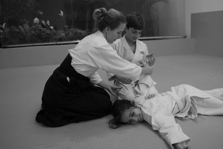 Aikido para crianças