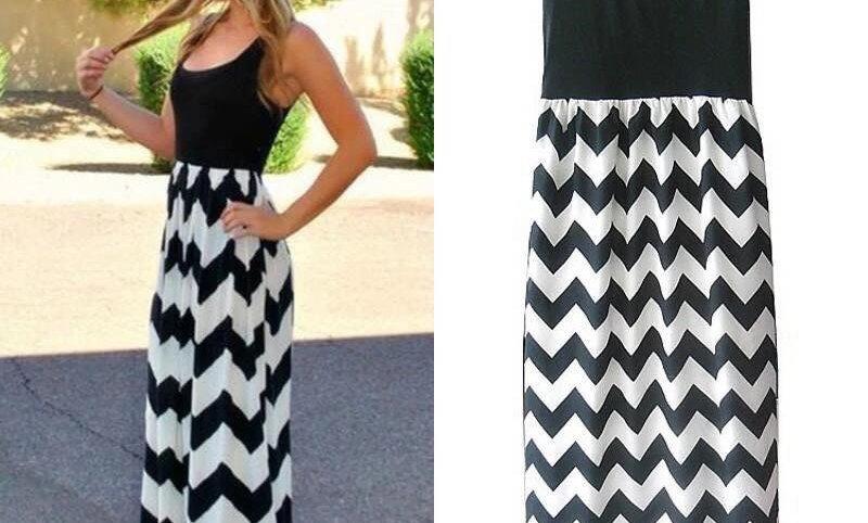Maxi Dresses- Black & White