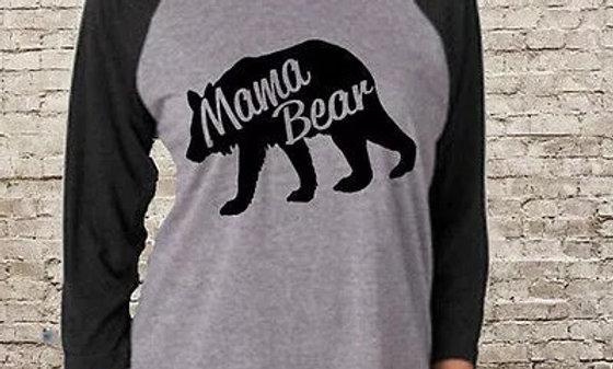 Black/Grey Mama Bear