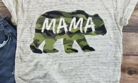 Mama Green Bear