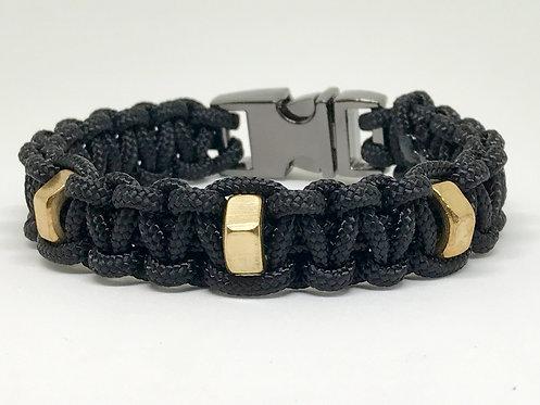 Stud 3 Black/Silver
