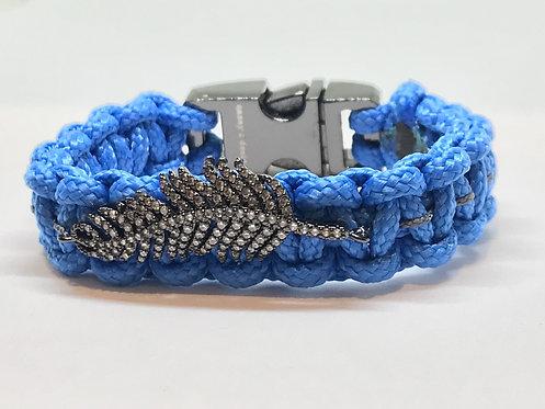 Nautical Blue Feather