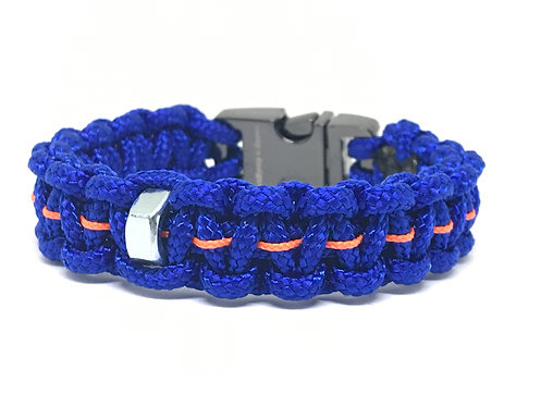 Royal Blue/Orange Football Stud