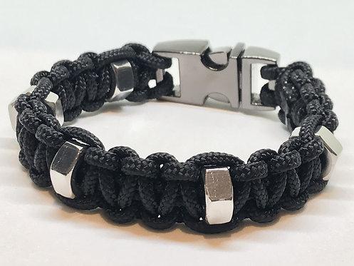 Stud 5 Black/Silver