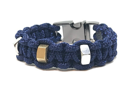 Stud 3 Navy Blue