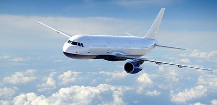 Airplane-in-the-cloudy-sky-Passenger-Air