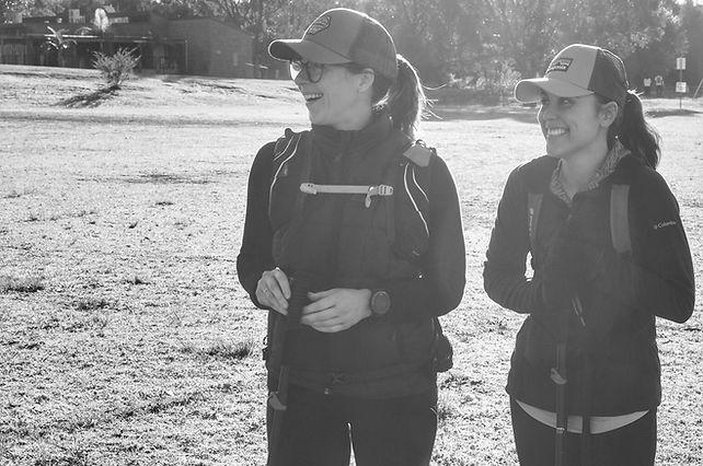Giselle Finnane and Felicia Lal Oxfam Trailwalker 2017