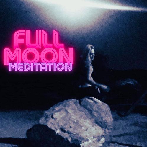 Full Moon Meditation-Meeting Luna (15 mins)
