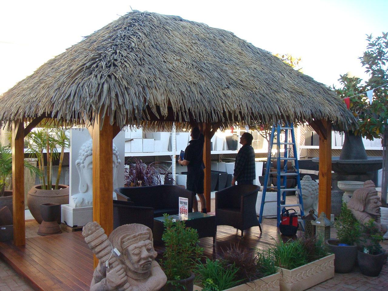 Tahiti Tiki Hut Kits 10 x 12