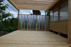 Lexan Privacy Panels on Deck 4