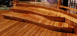 Curved Deck & Rail