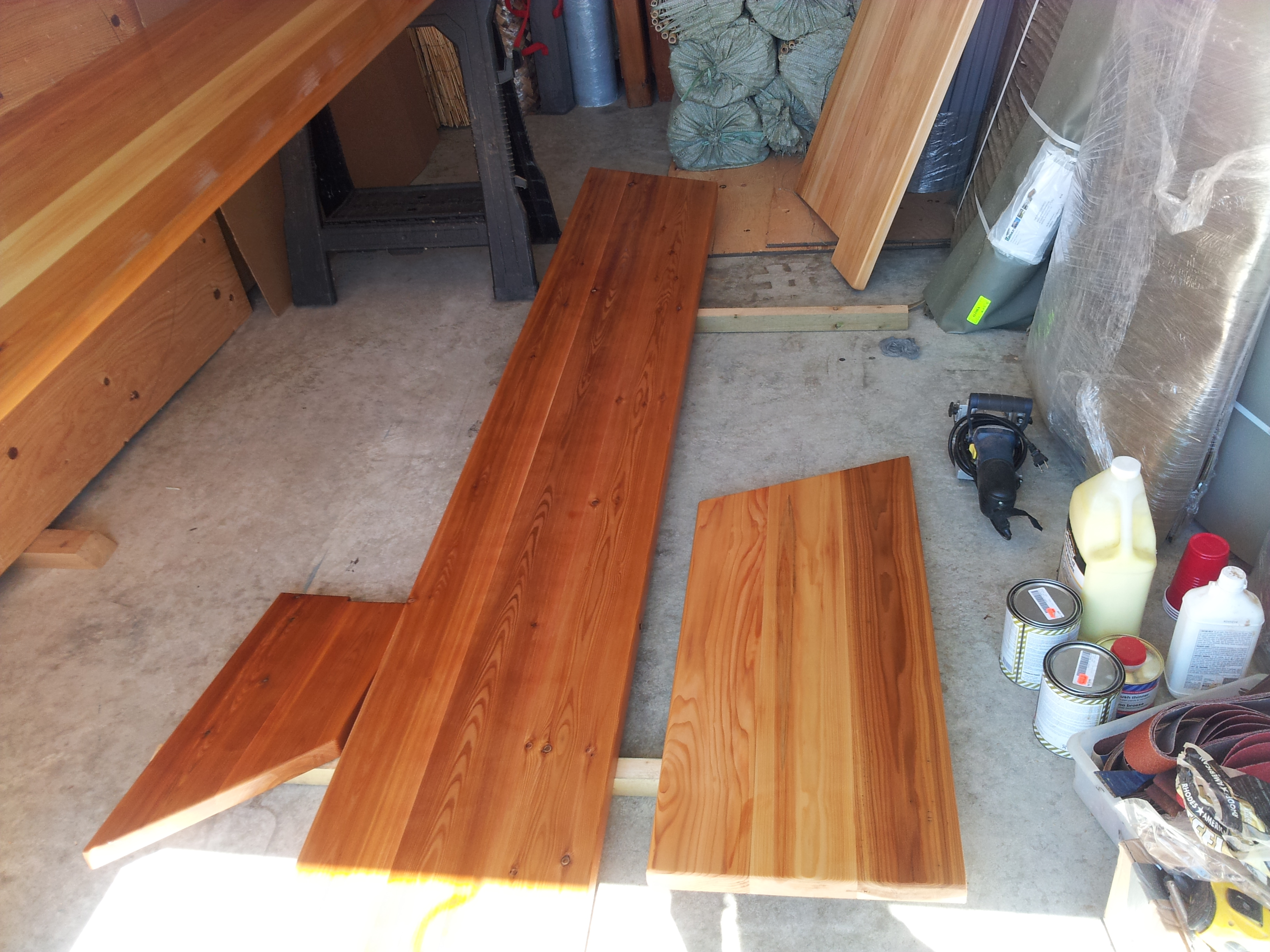 Custom Cedar Bar with EPIFANES Clear High Gloss Varnish 4