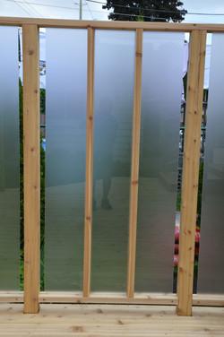 Lexan Privacy Panels on Deck 3
