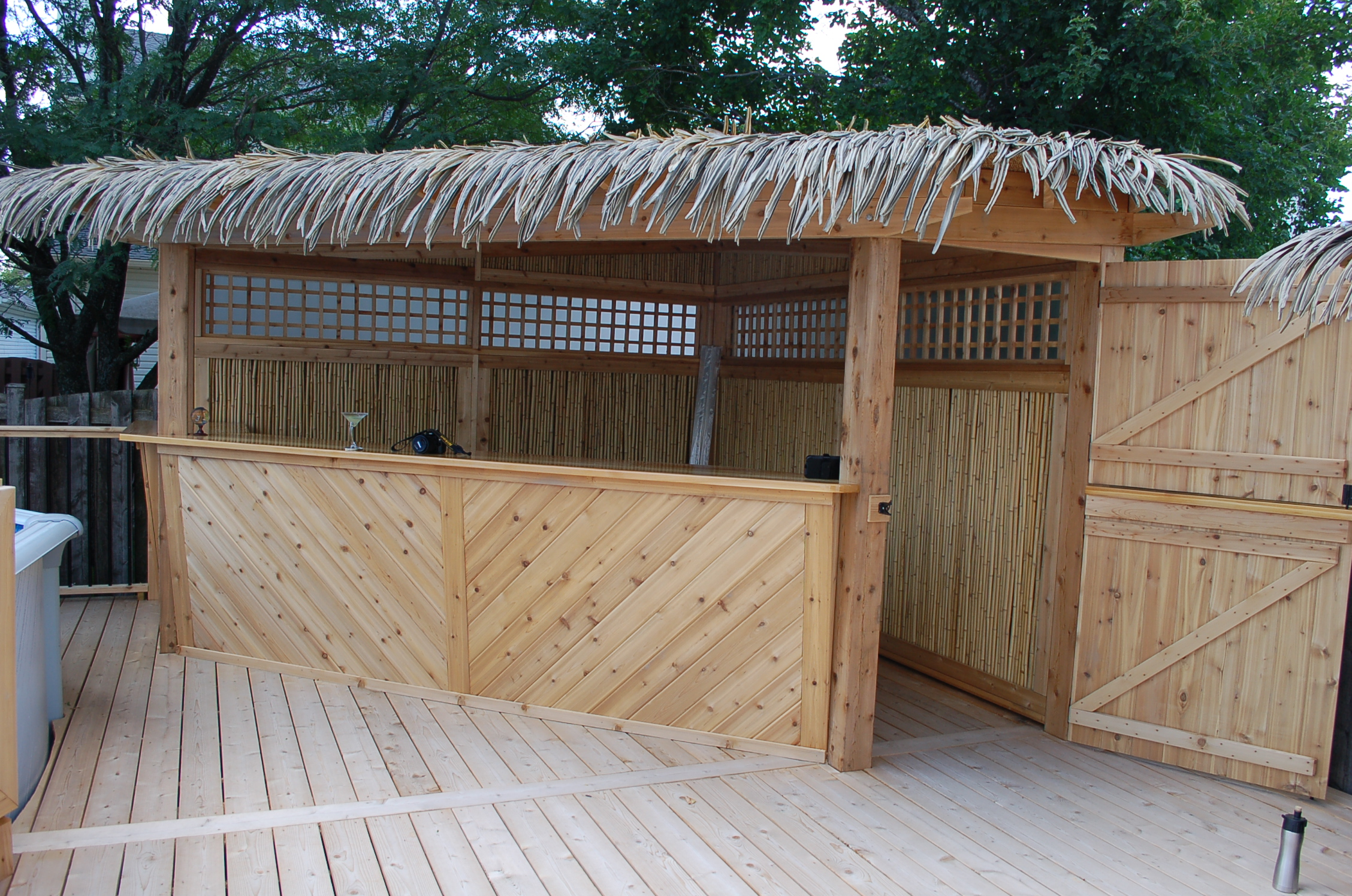 Tiki Bar and BBQ Cover and Pool Deck 2