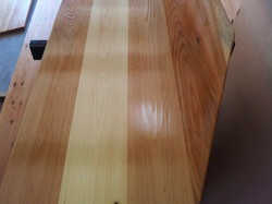 Custom Cedar Bar with EPIFANES Clear High Gloss Varnish 2