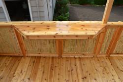 Bamboo Rail & Bar Top